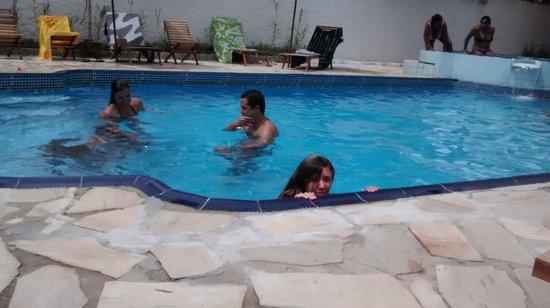 Hotel Brunello: A piscina é ótima!