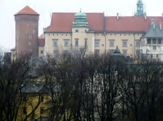Queen Boutique Hotel : View of Wavel Castle from room 26.