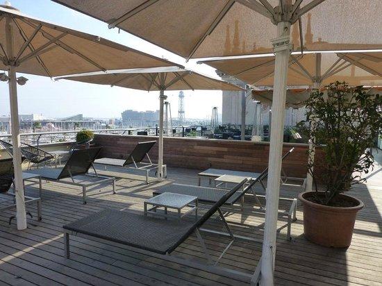 Hotel Duquesa de Cardona: Terrasse
