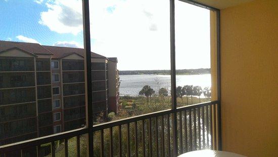Westgate Lakes Resort & Spa: great porch!