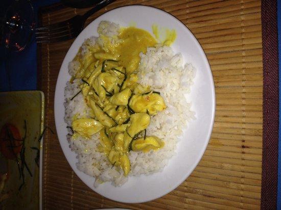 Hakan's Bar & Restaurant: Penang curry