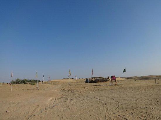 Royal Desert Camp Jaisalmer: from entrance