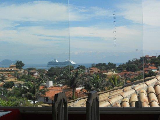 Pousada Aroma Do Mar : Hermosa Vista en el desayunador