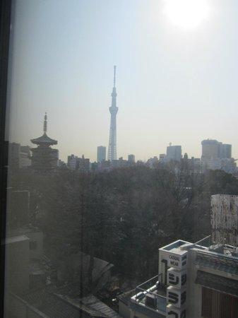 Richmond Hotel Asakusa: スカイツリーが見えました