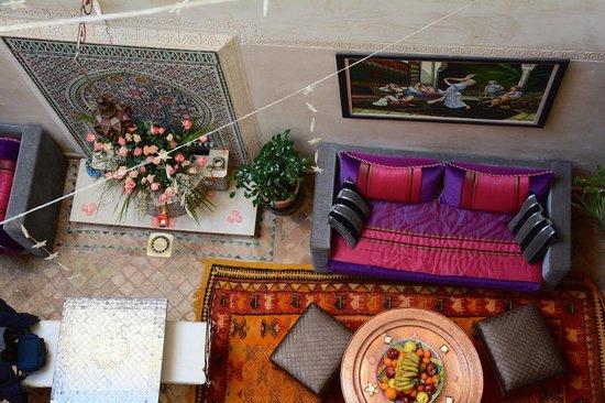 Riad Bab Tilila: Hall