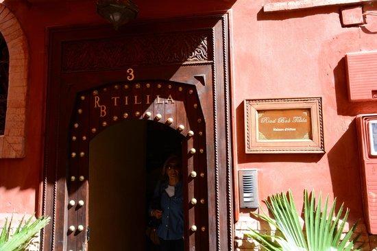 Riad Bab Tilila : Ingresso