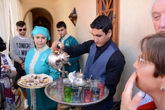 Riad Bab Tilila : Rinfresco di benvenuto