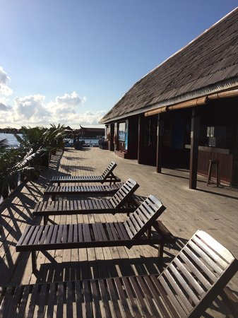 Borneo Divers Mabul Resort: Jetty