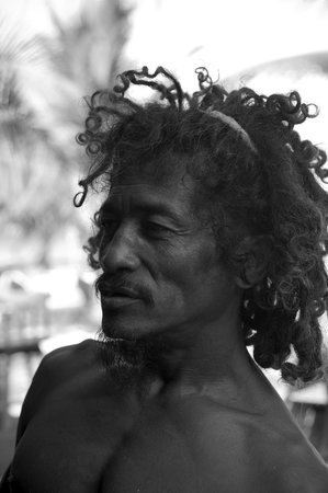 Caribbean Villas Hotel: Coconut Leo - Amazing artist
