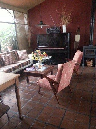 Hosteria Suyana: Salon interieur