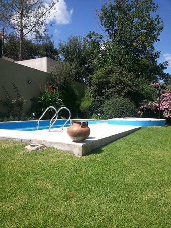 Hosteria Suyana: Petite la piscine !