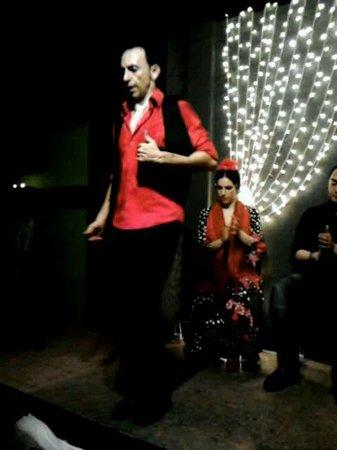 Cafe del Duende: ballerino