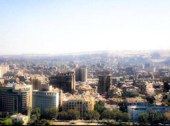 Sofitel Cairo El Gezirah: Vu de la chambre