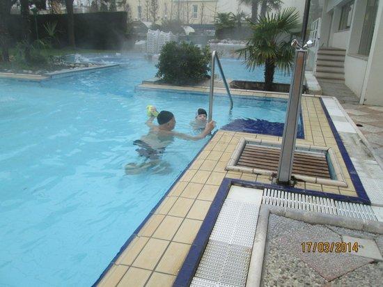 Terme Milano Hotel : esterno piscina