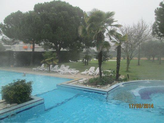Terme Milano Hotel: piscine esterne