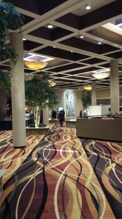 Holiday Inn Executive Center - Columbia: Very nice common area.  Looks like they spent all their renovation budget here.