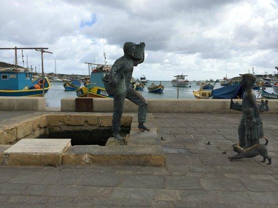 Hotel Valentina : Villaggio dei Pescatori - Marsaxlokk