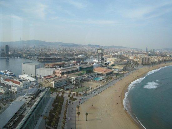 W Barcelona: beach view