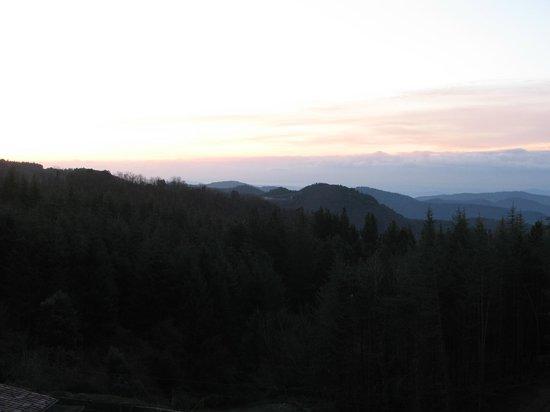 Vilar Rural de Sant Hilari Sacalm: Amanecer
