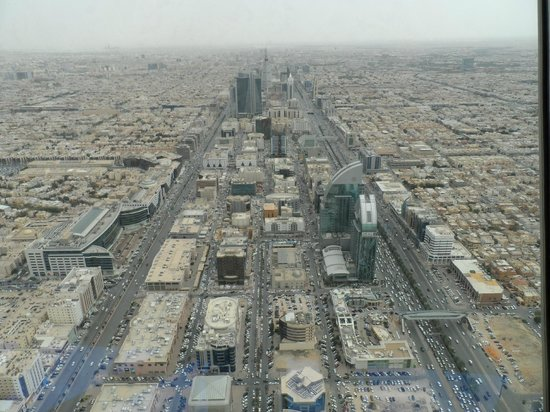 Tour du Kingdom Centre : View from the top