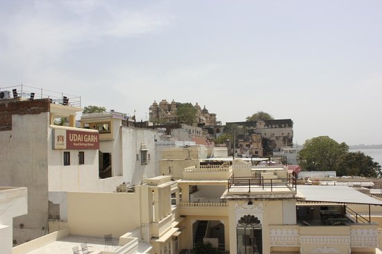 Jaiwana Haveli Roof Top Restaurant: view from roof top restaurant