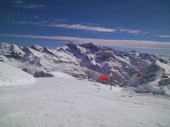 Monterosa Ski: vista dal bettaforca