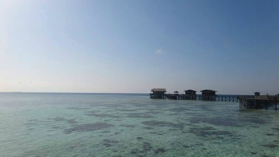Pom Pom Island Resort & Spa: View of the sea villas