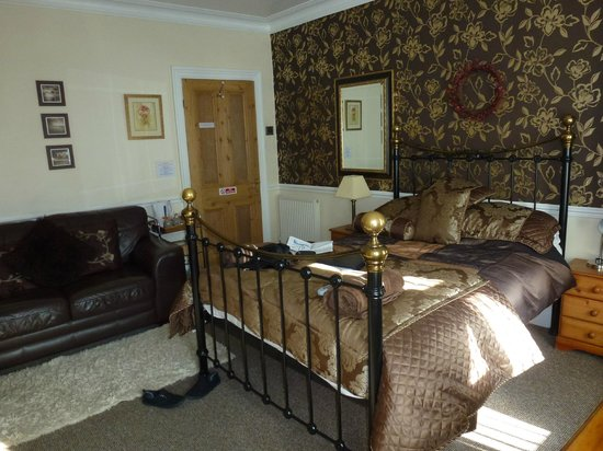 Heathfield Bed and Breakfast : Our room