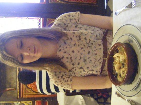Sobrino de Botin : Garlic prawns