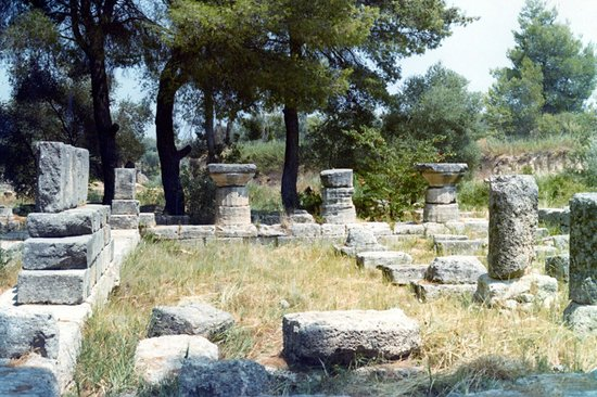Le site archéologique d'Olympie (Archaia Olympia) : resti