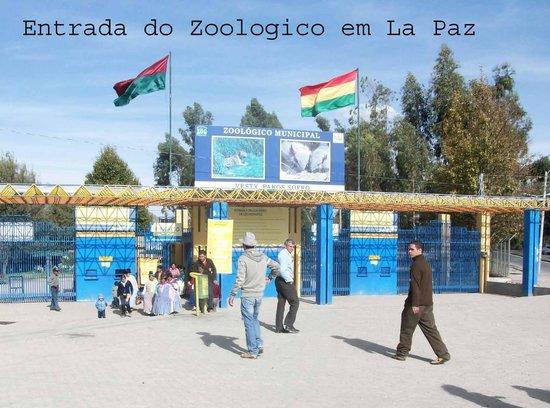 Entrada do Zoologico em La Paz