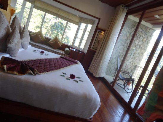 SpiceTree Munnar: la chambre et son coté salon
