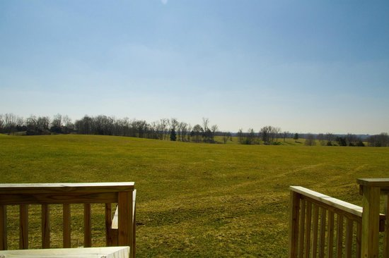Tanglewood Golf Course and Condos: View from back patio