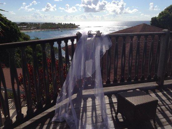 La Toubana Hotel & Spa : Vue de la chambre 8