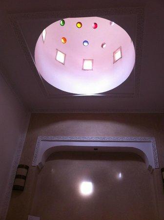 Riad Dar Ten: cupola privata della suite