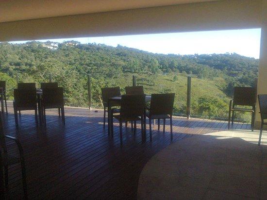 Taua Resort Caete : Vista do bar