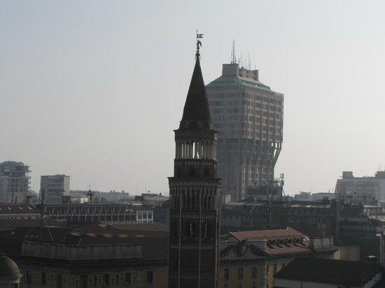 Torre Velasca: il vecchio e il moderno