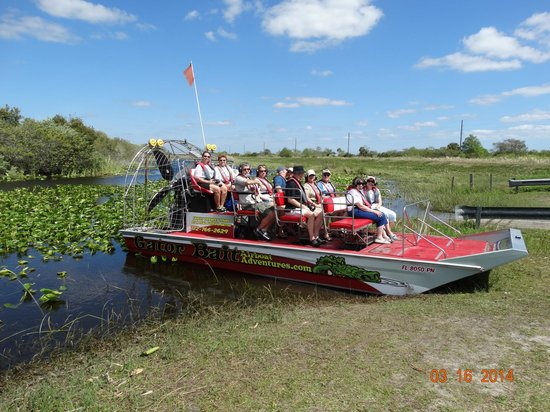 Gator Bait Airboat Adventures Boat