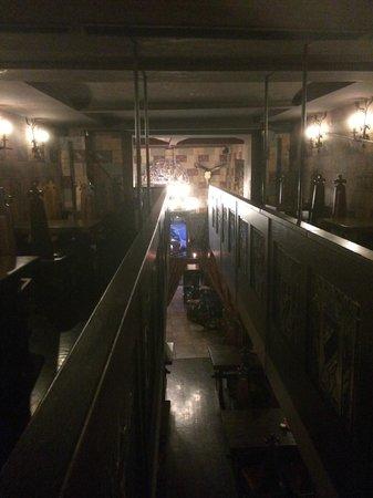 Sir Lancelot Knights' Restaurant: 2 этаж, балкон