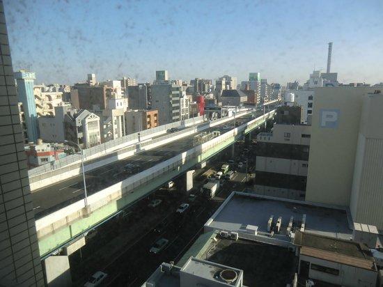 Hotel Route Inn Nagoya Sakae: view from room