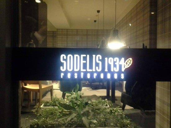 Sodelis 1934: entrance