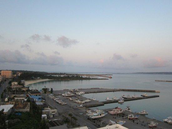 Hotel Atoll Emerald Miyakojima: 早朝の眺め