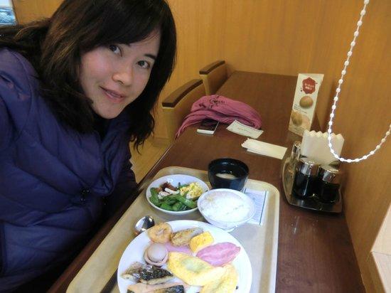 Hotel Route Inn Nagoya Sakae: hearty breakfast