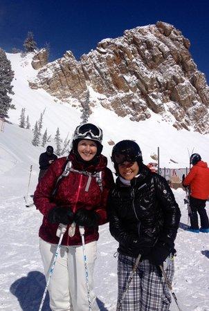 Snowbasin Resort : Peak at Snowbasin