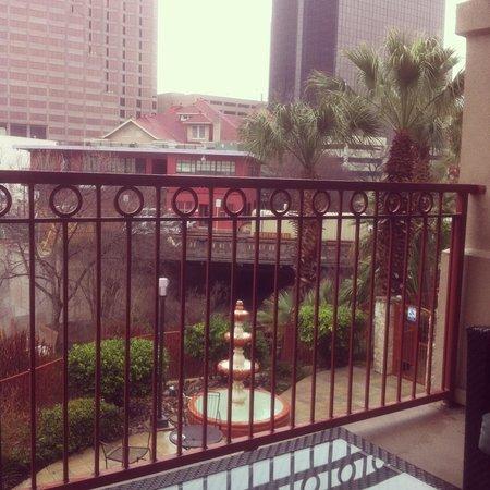 River View Room With Balcony Picture Of Hotel Indigo San Antonio