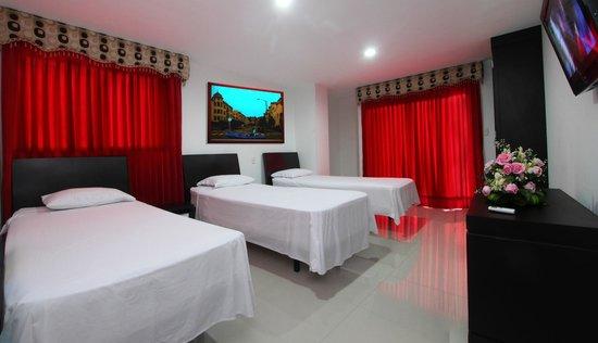 Hotel Charthon Barranquilla: STANDAR MULTIPLE TORRE NUEVA