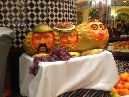 IFA Buenaventura Hotel: Decoración del comedor