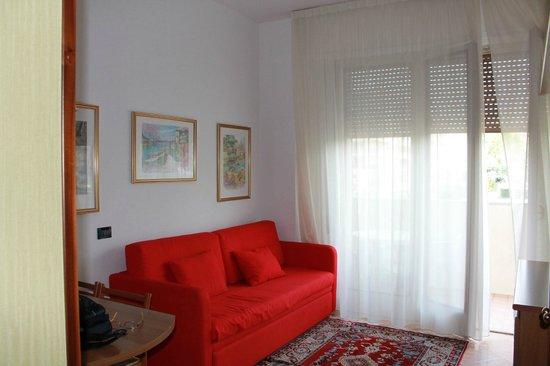 Hotel Parioli: гостиная