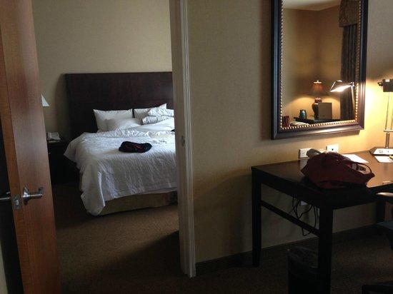Hilton Garden Inn Salt Lake City Downtown: separate bedroom