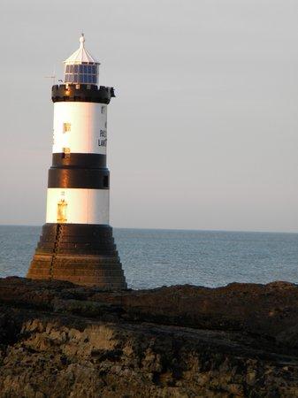 Penmon Point: Penmon Lighthouse